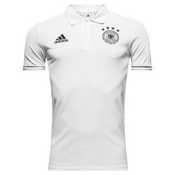 Saksa Pikee Player Valkoinen/Musta
