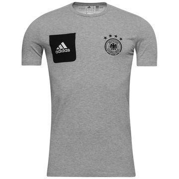 Saksa T-paita Player Harmaa/Musta