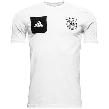 Saksa T-paita Player Valkoinen/Musta Lapset