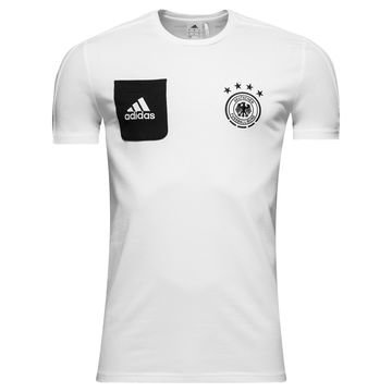 Saksa T-paita Player Valkoinen/Musta
