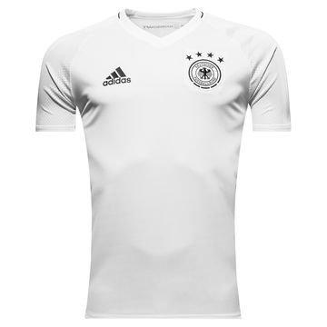 Saksa Treenipaita Valkoinen/Musta Lapset