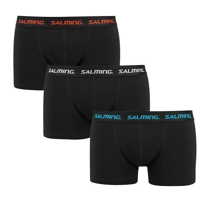 Salming Abisko Boxer 3-pack black S