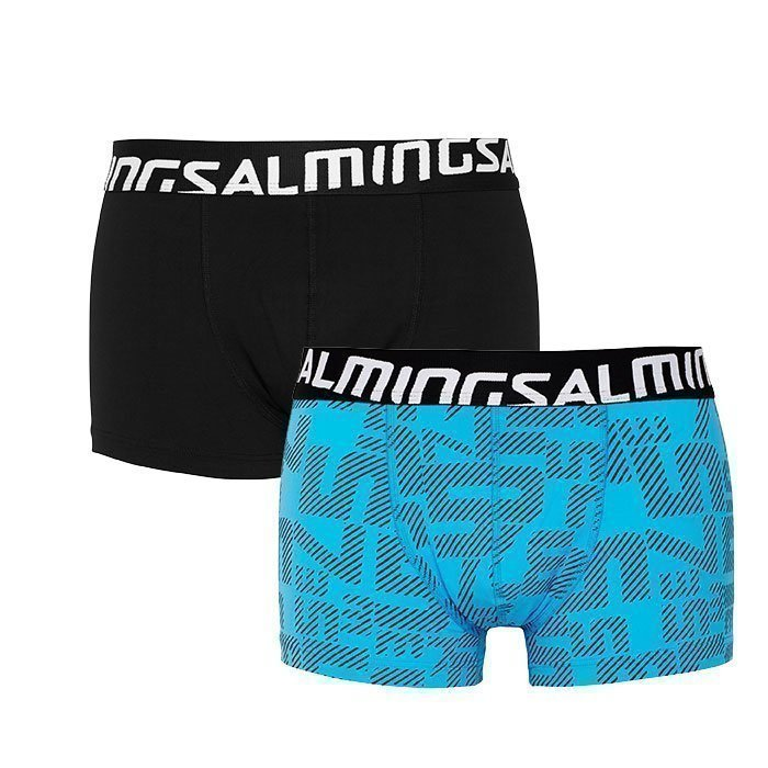 Salming Force Boxer 2-pack blue/turquoise M
