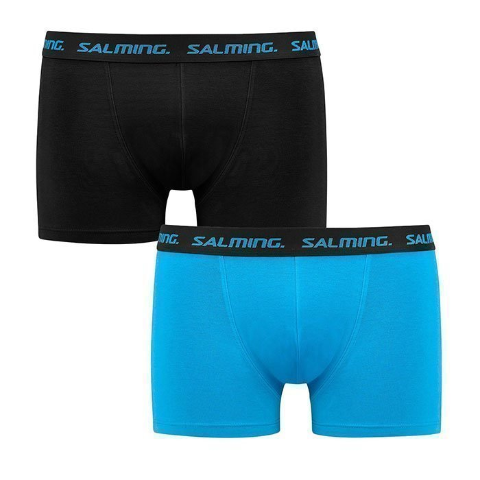 Salming Freeland Boxer 2-pack black/blue
