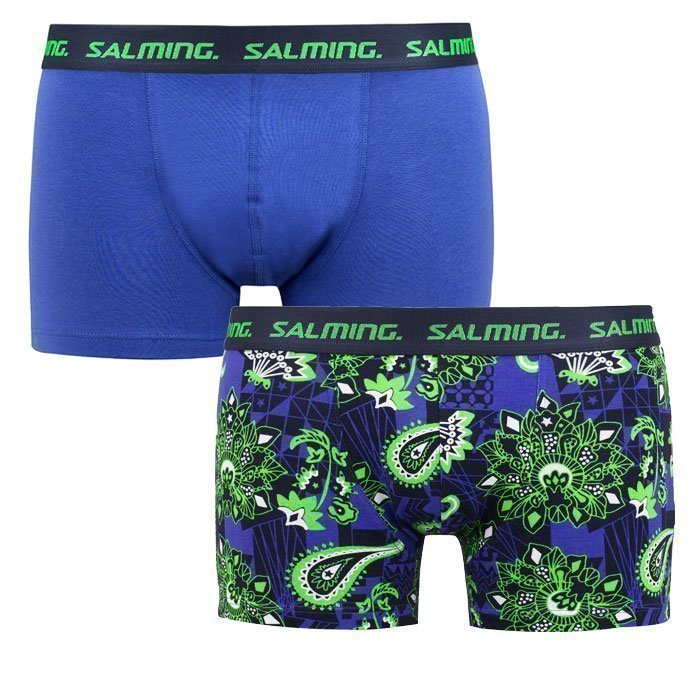 Salming Richview Boxer 2-pack blue/green XL
