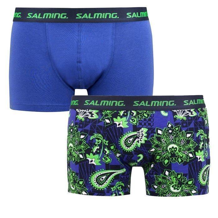 Salming Richview Boxer 2-pack blue/green XL