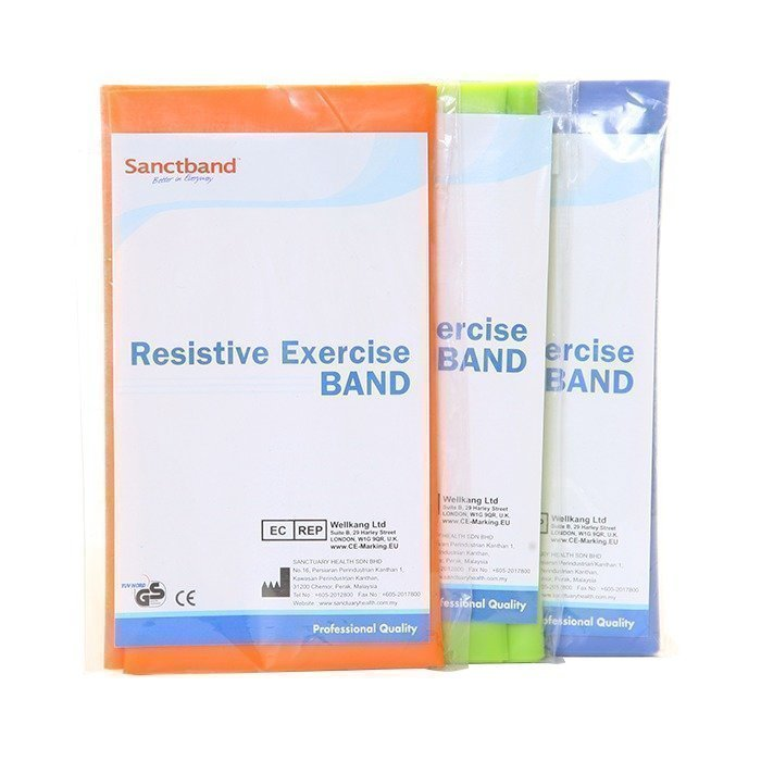 Sanctband 3-pack Resistive Exercise Band