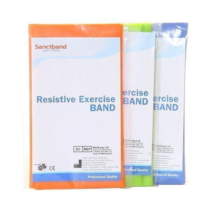 Sanctband 3-pack Resistive Exercise Band