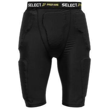 Select Compression Shortsit w/Pads Musta