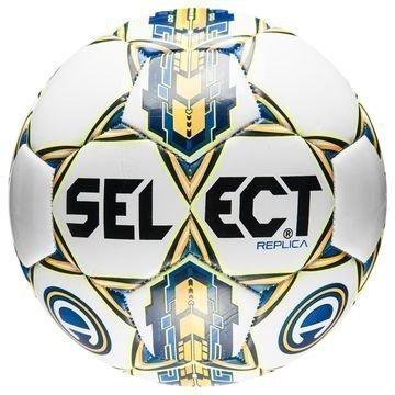 Select Jalkapallo Brillant Replica Allsvenskan Valkoinen/Keltainen