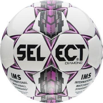 Select Jalkapallo Diamond Valkoinen/Lila