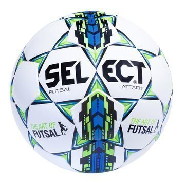 Select Jalkapallo Futsal Attack Valkoinen/Sininen/Vihreä