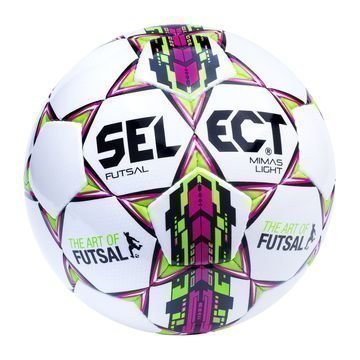 Select Jalkapallo Futsal Mimas Light Valkoinen/Vihreä/Pinkki