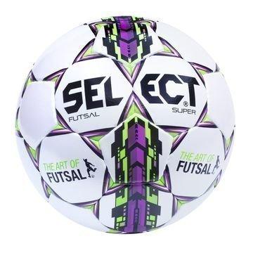 Select Jalkapallo Futsal Super Valkoinen/Lila/Vihreä