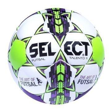 Select Jalkapallo Futsal Talento 11 Valkoinen/Vihreä/Lila Lapset