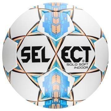 Select Jalkapallo Solo Soft Indoor Valkoinen/Sininen/Oranssi
