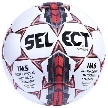 Select Jalkapallo Vision Naiset Valkoinen/Punainen/Hopea