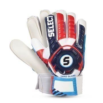 Select Maalivahdin Hanskat 04 Hand Guard Finger Protection Valkoinen/Navy Lapset