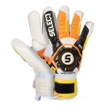 Select Maalivahdin Hanskat 55 Xtra Force Musta/Keltainen/Oranssi