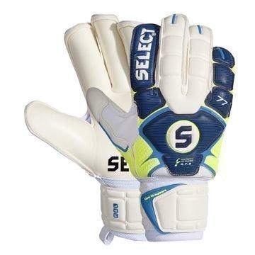 Select Maalivahdin Hanskat 77 Super Grip Sininen/Keltainen/Valkoinen