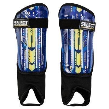 Select Säärisuojat High Safe Sininen/Keltainen