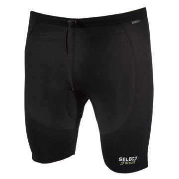Select Warm Shortsit w/Lycra Musta