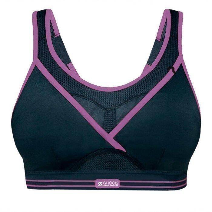 Shock Absorber Ultimate Gym Bra black/purple 70B