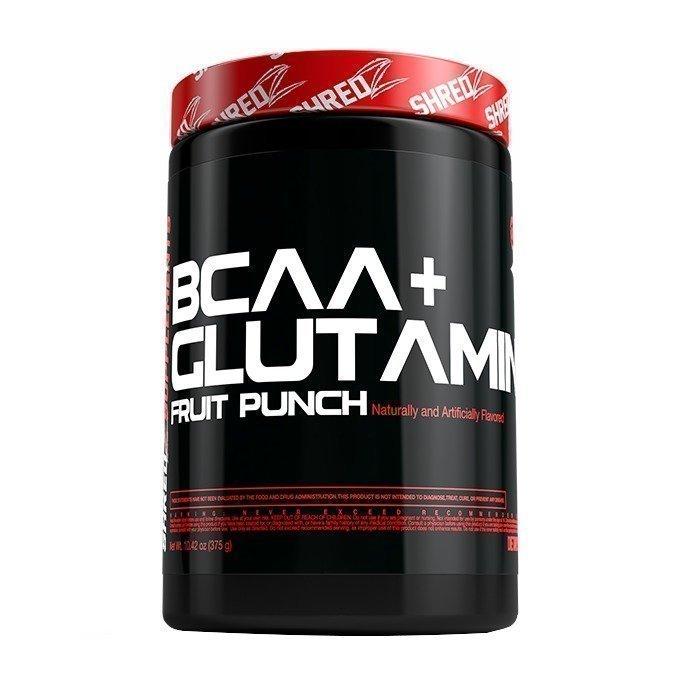 Shredz BCAA + Glutamine 30 servings Fruit Punch