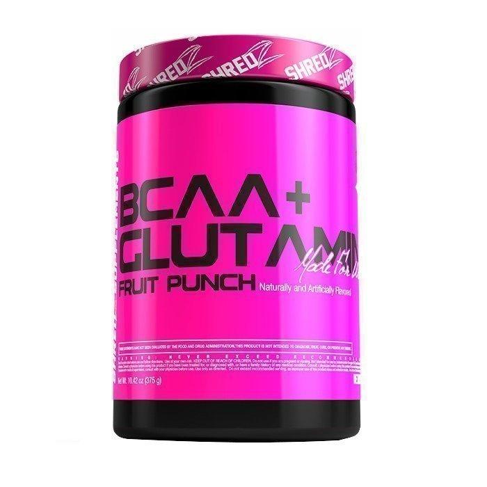 Shredz BCAA + Glutamine MFW 30 servings Fruit Punch