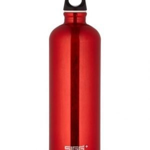 Sigg Traveller Red Juomapullo 1 L