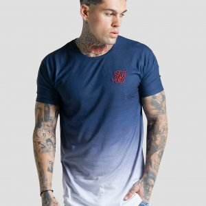 Siksilk Fade T-Shirt Laivastonsininen