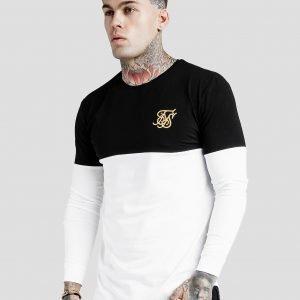 Siksilk Long Sleeve T-Paita Valkoinen