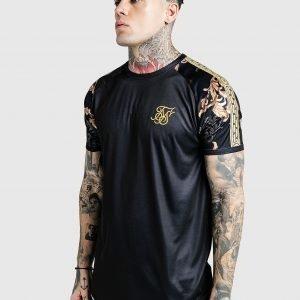 Siksilk X Dani Alves Gym T-Shirt Musta