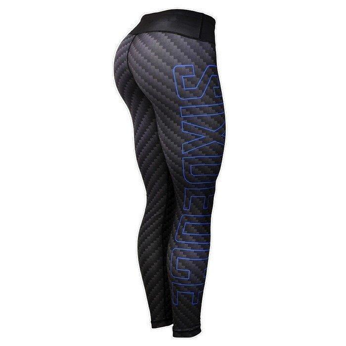 Six Deuce Carbon Fiber Fitness Leggings grey XS