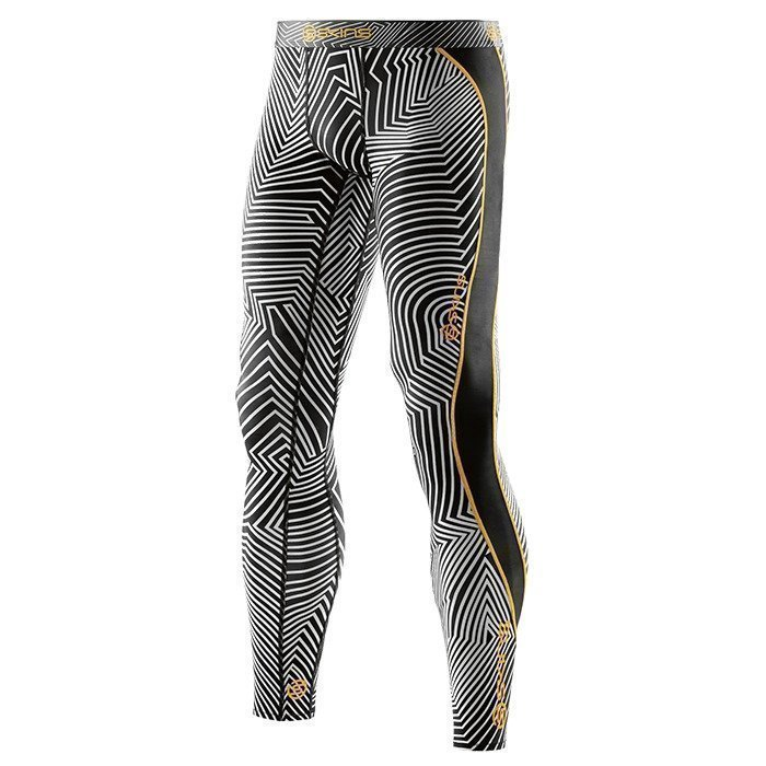 Skins DNAmic Men Long Tights Broken Maze M
