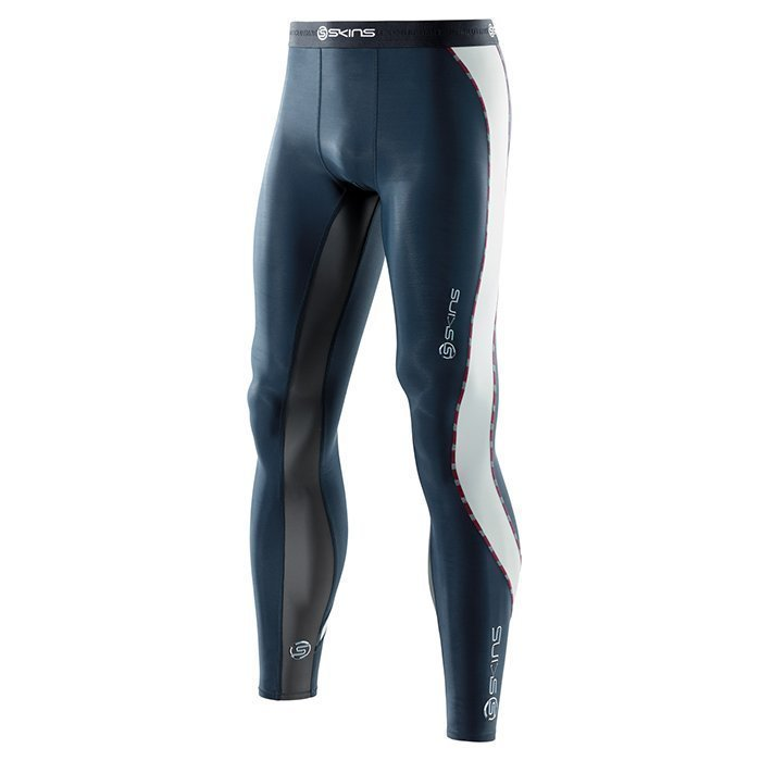 Skins DNAmic Men Long Tights Indigo