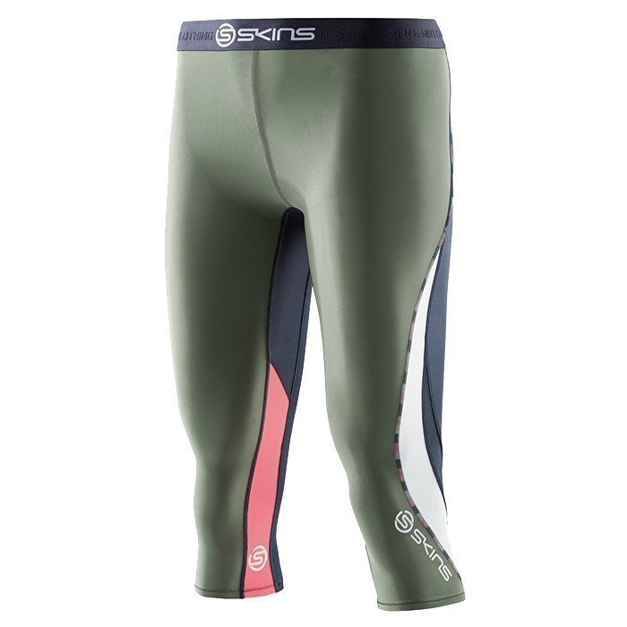 Skins DNAmic Women 3/4 Tights Midnight/Sage XS