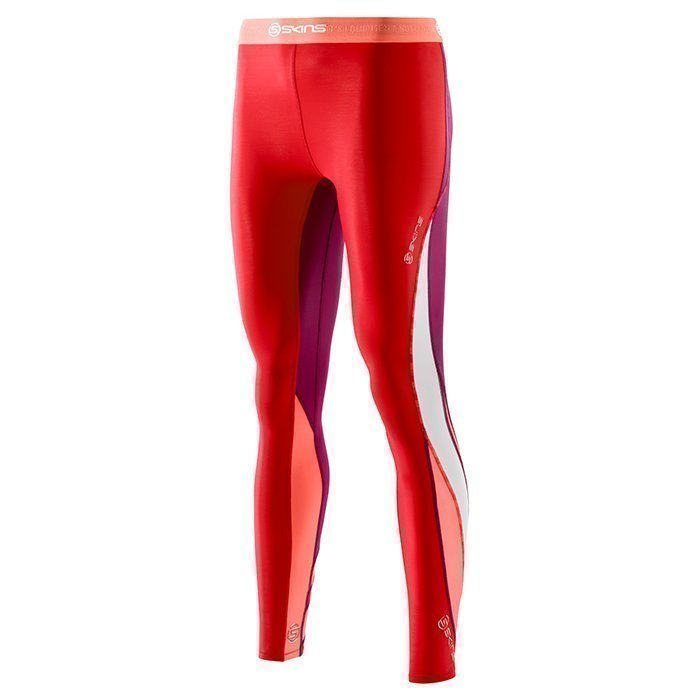 Skins DNAmic Women Long Tights Rossa
