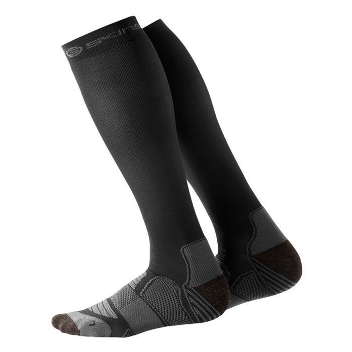 Skins Men Compressions Socks Black/Pewter XL