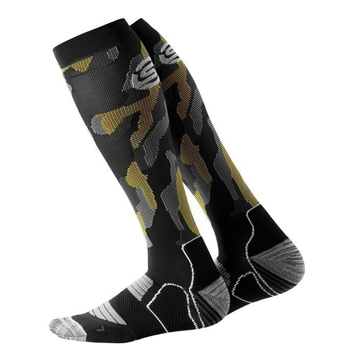 Skins Men Compressions Socks Glitch Camo L