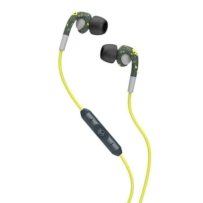 Skullcandy FIX IN EAR Dark Gray/Light Gray/Hot Lime w/Mic3