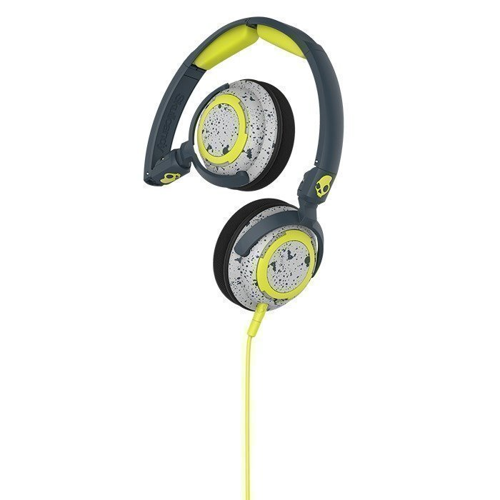 Skullcandy LOWRIDER Dark Gray/Light Gray/Hot Lime w/ Mic 1