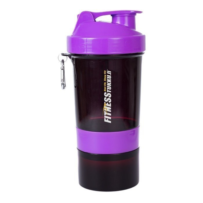 Smartshake Fitnesstukku SmartShake 600ml Black/Purple