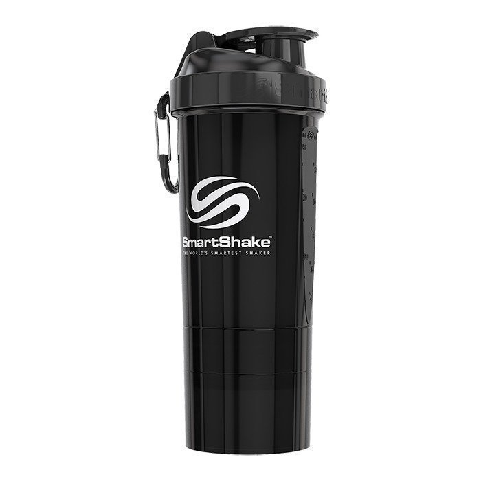 Smartshake O2GO 800 ml Gunsmoke Black