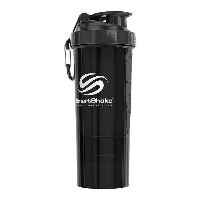 Smartshake O2GO 800 ml Gunsmoke Black