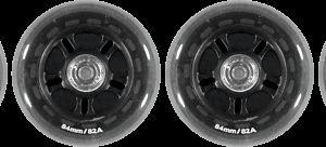 Soc Wheel Set Rullaluistimen Rengas 84 Mm 4-Pakkaus
