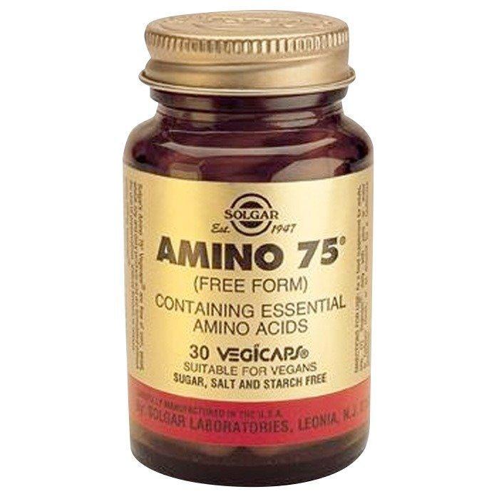 Solaray Amino 75 30 kapselia