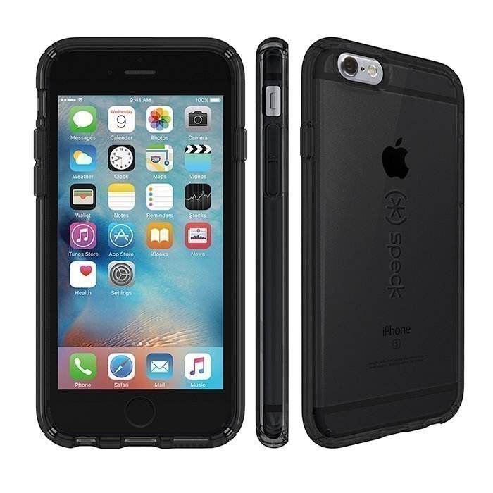 Speck iPhone 6 Plus/6s Plus CandyShell Clear - Onyx Black