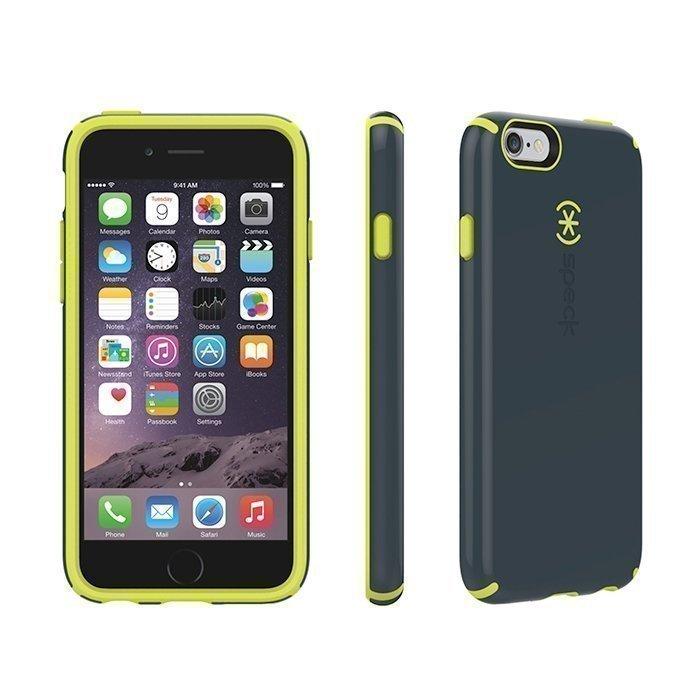 Speck iPhone 6/6s CandyShell Charcoal Grey/Antifreeze Yellow