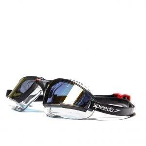 Speedo Aquapulse Max Mirror Goggles Musta